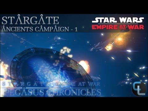Ancient Defense  - Ep 1 - Stargate: Pegasus Chronicles (EaW Mod) - Ancient Campaign