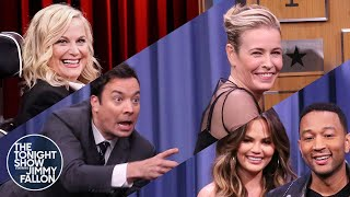 Tonight Show Charades with Amy Poehler, Chelsea Handler, John Legend  Chrissy Teigen