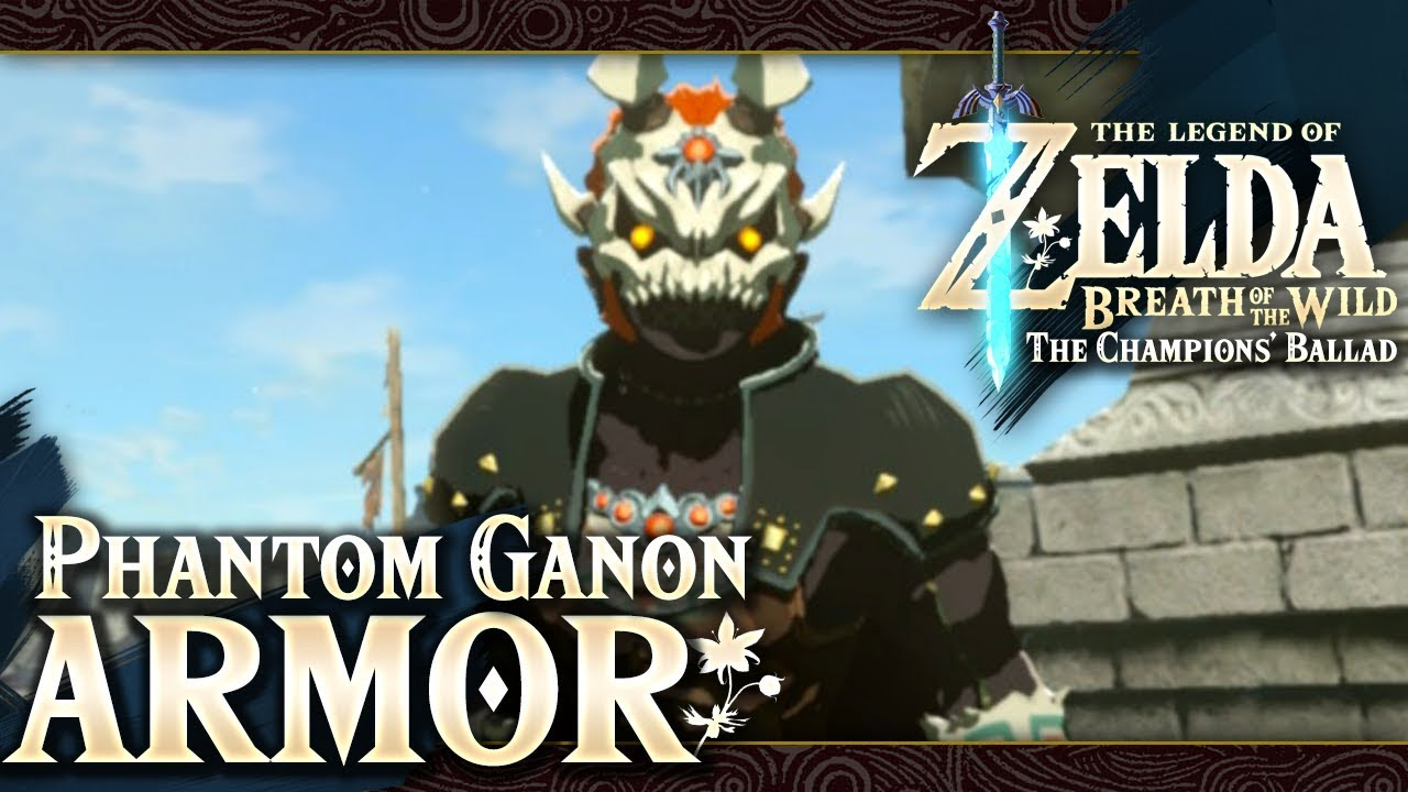 The Legend Of Zelda Breath Of The Wild Part 73 Phantom Ganon Set
