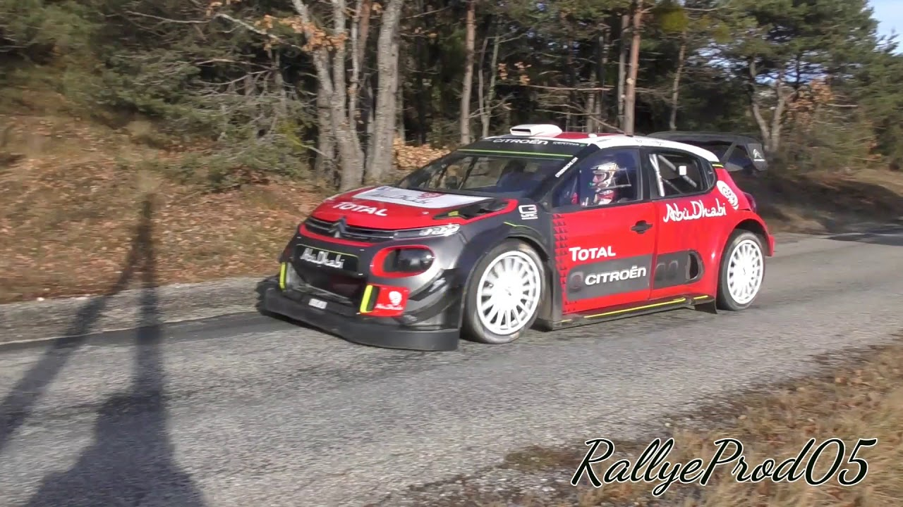 test craig breen c3 wrc monte carlo 2018 flatout youtube. Black Bedroom Furniture Sets. Home Design Ideas