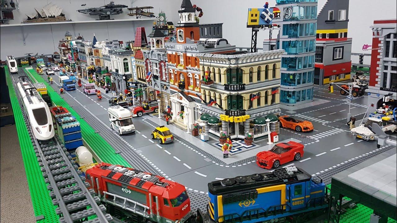 Lego City Update 200 Sq Ft February 2018 Youtube