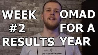 OMAD WEIGHT LOSS RESULTS | WEEK #2 | ONE MEAL A DAY CHALLENGE