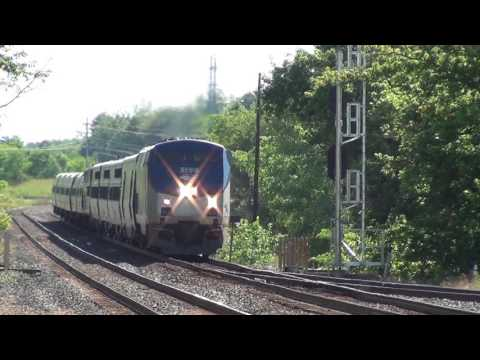 Amtrak 48 rerouted on CSX for the first time in Berea, Ohio