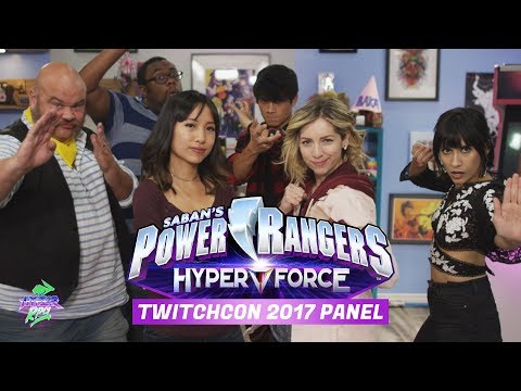 Power Rangers HyperForce Official TwitchCon 2017 Panel