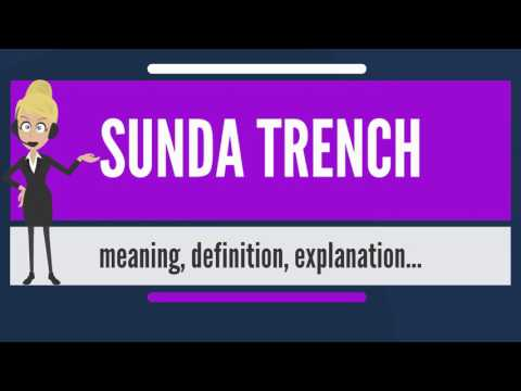 What is SUNDA TRENCH? What does SUNDA TRENCH mean? SUNDA TRENCH meaning & explanation