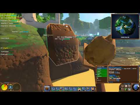 MongoTV_968 - Part 28 - ECO - EXOPLANET - 1 Km. - Public Server World - Day 11 - WATER CHANNEL