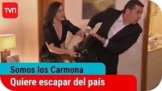 Los Carmona, Cap 144: Isabel quiere escapar del país.