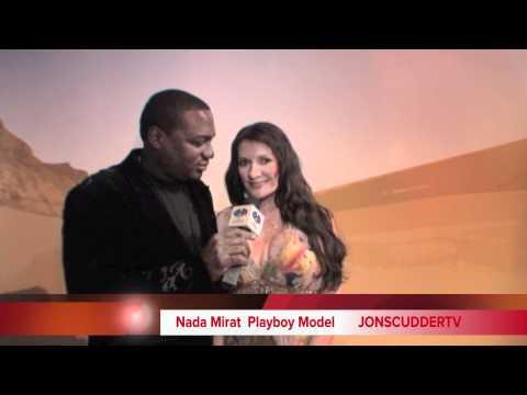 Nada Mirat Playboy Model Speaks With JONSCUDDERTV