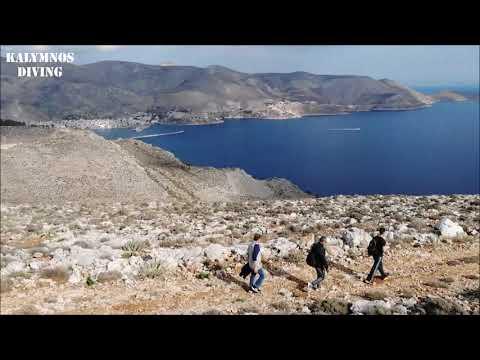 Άγιος Γιώργης στις πεζούλες - Κάλυμνος ''aerial footage''