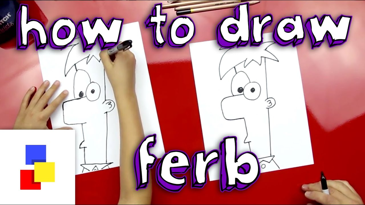 How to draw ferb 88