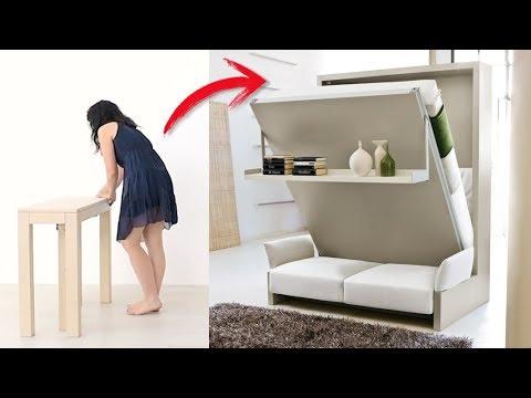 Muebles inteligentes que te ayudaran a ahorrar espacio en - Ideas para el hogar ...