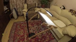 Моя лампа-лупа для вышивания / Лупа-лампа настольная/напольная светодиодная Daylight EN1091
