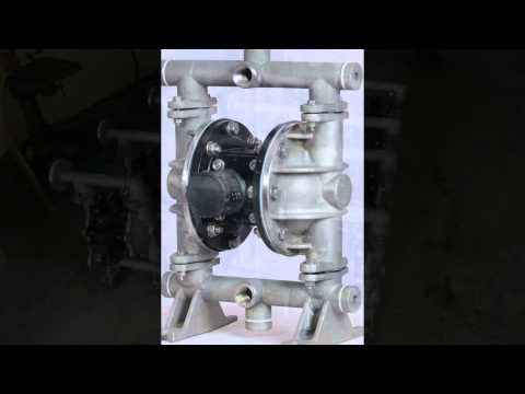 Air Operated Double Diaphragm Pump Aeron Pumps