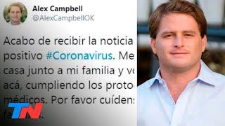 Coronavirus En La Política | El Diputado Bonaerense Alex Campbell, Positivo En Covid-19