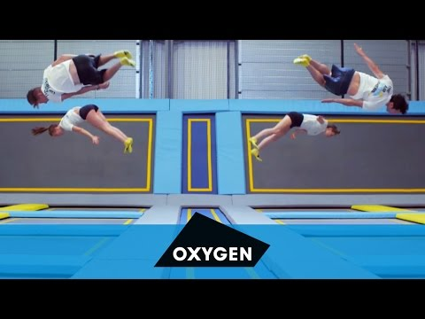 Oxygen Freejumping Trampoline Park in Acton, London!