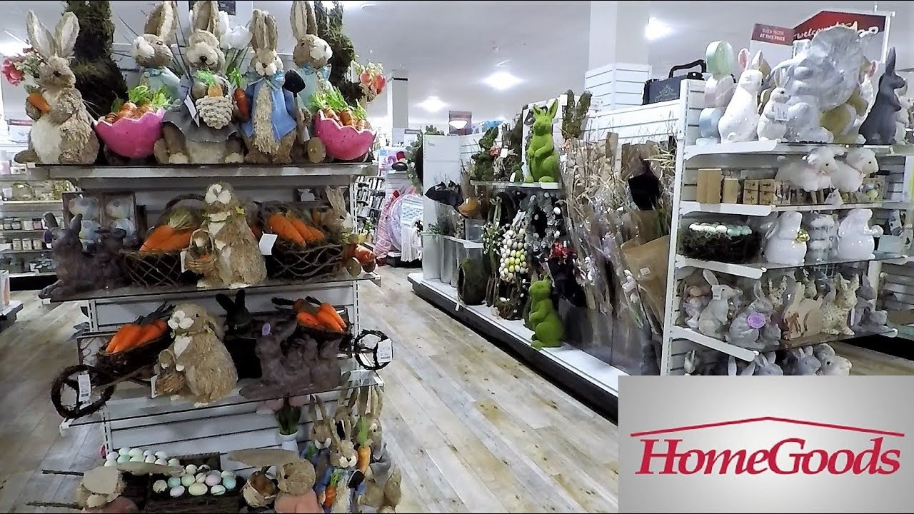 Home Goods Easter Decor Spring Shop With Me Shopping Store