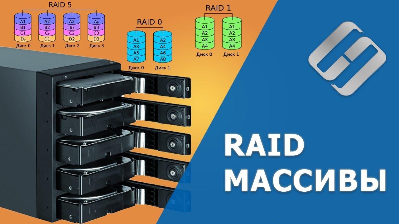 RAID массив. Что это такое, какие бывают и как создать?️? ?