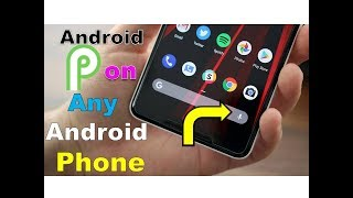 Android P Launcher in Any Android Mobile | Android P 9.0 Style