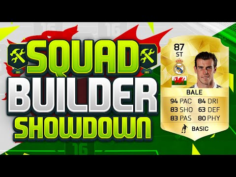 FIFA 16 SQUAD BUILDER SHOWDOWN!!! STRIKER GARETH BALE!!! Position Changed Bale Squad Duel