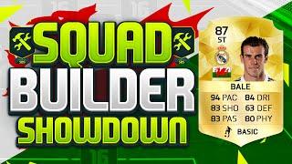 FIFA 16 SQUAD BUILDER SHOWDOWN!!! STRIKER GARETH BALE!!! Position Changed Bale Squad Duel
