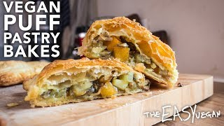 Vegan Puff-Pastry Bakes