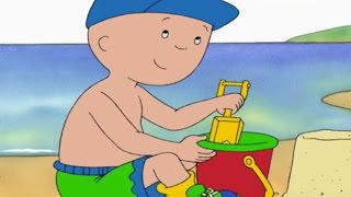 CAILLOU 1 HOUR Full Episodes | Caillou At The Beach | Cartoons For Kids