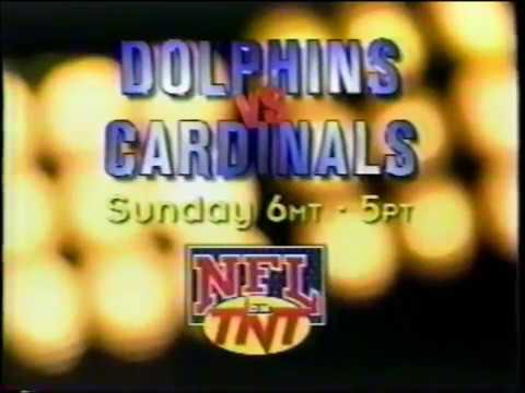 NFL on TNT -  Sunday Night Commercial (1996)