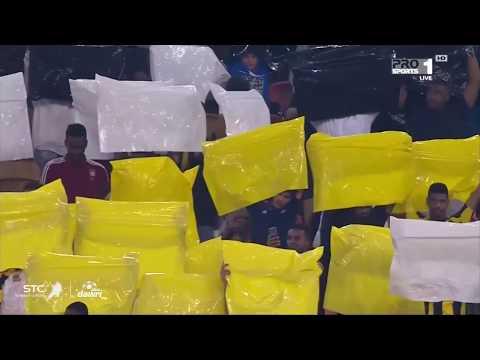 تيفو جماهير الاتحاد في مباراة الشباب – الجولة العاشرة من الدوري السعودي