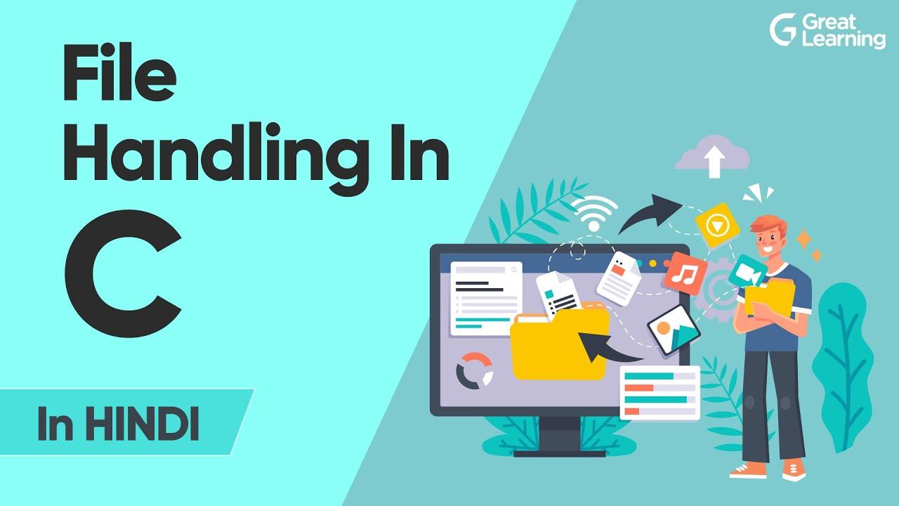 File Handling In C in Hindi   C Programming Tutorial in 2021   Learn C Programming