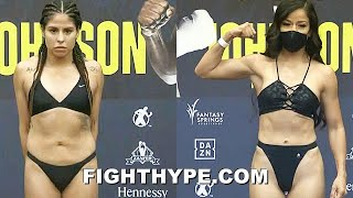 NAKED MARLEN ESPARZA VS. SULEM URBINA WEIGH-IN & FINAL FACE OFF