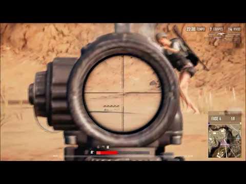 PUBG SPRAY HIGHLIGHTS M4/QBZ (scope 4x-6x)