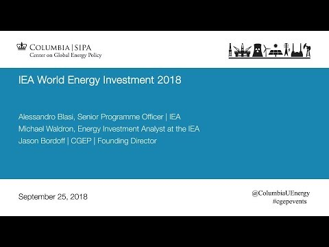 IEA World Energy Investment 2018
