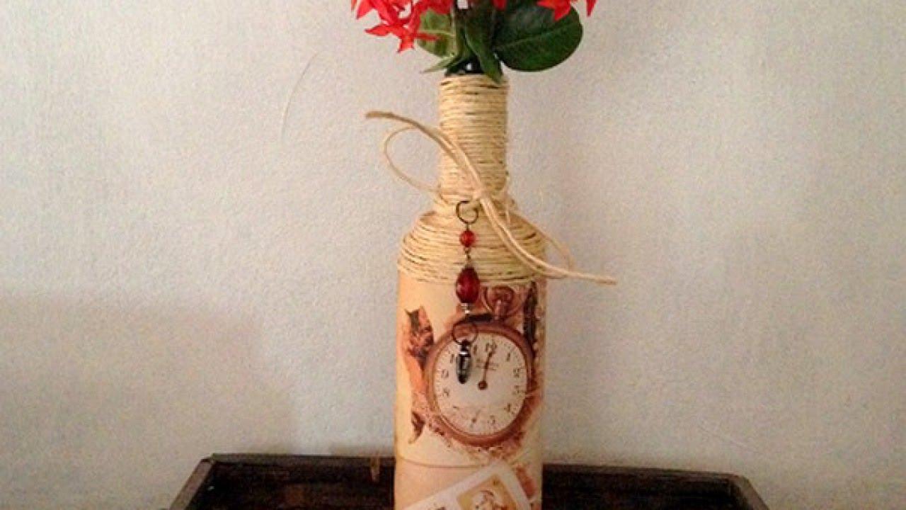 Make a home decor vintage flower vase diy guidecentral youtube reviewsmspy