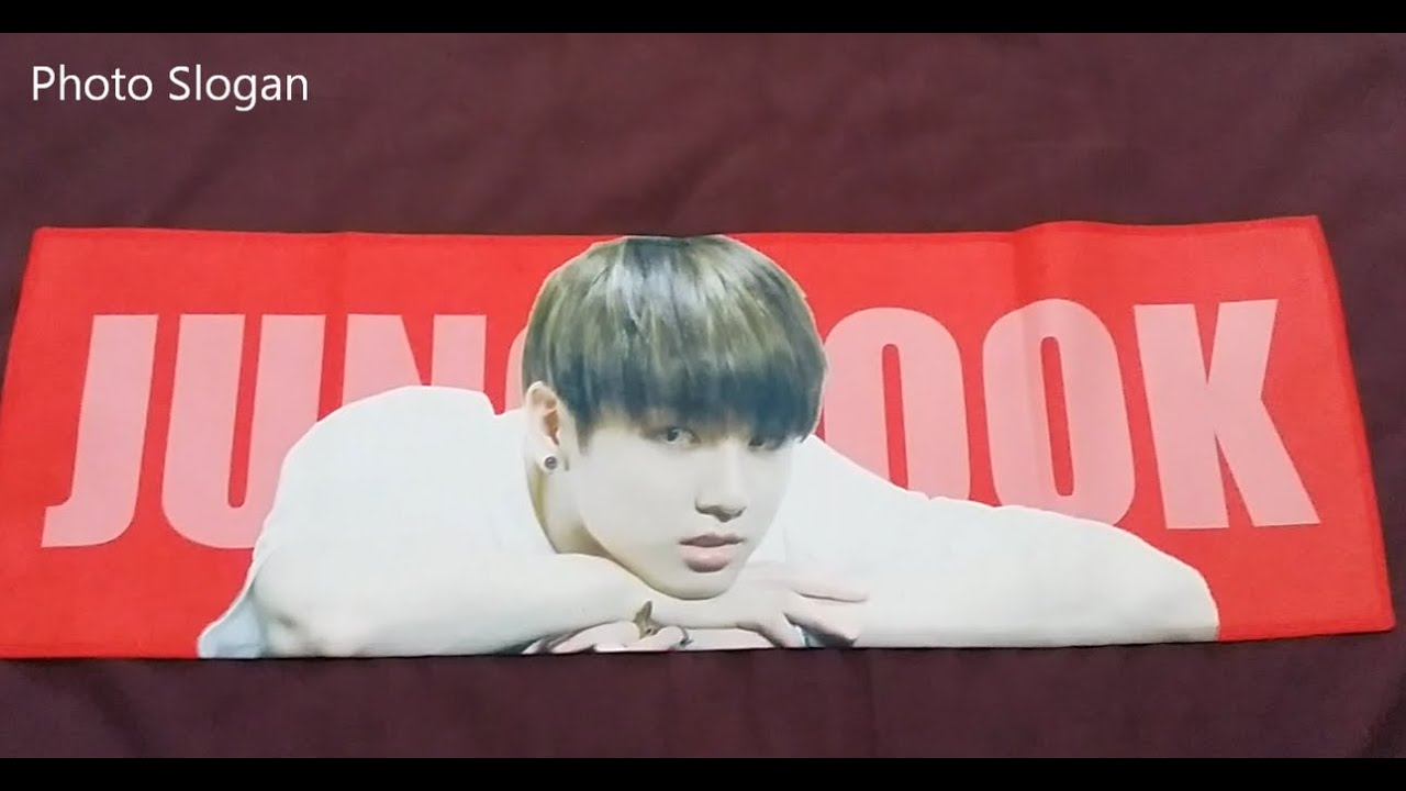 UNBOXING Jungkook Photo Slogan Ver 2 By MADE IN 1997 BTS Fansite