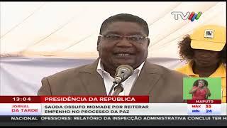Eleição de Ossufo Momade: PR endereça melhores sucessos como novo presidente da RENAMO