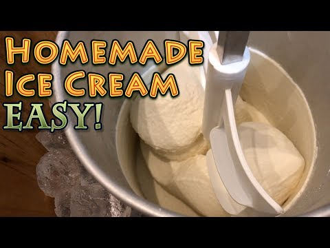Homemade Ice Cream EASY