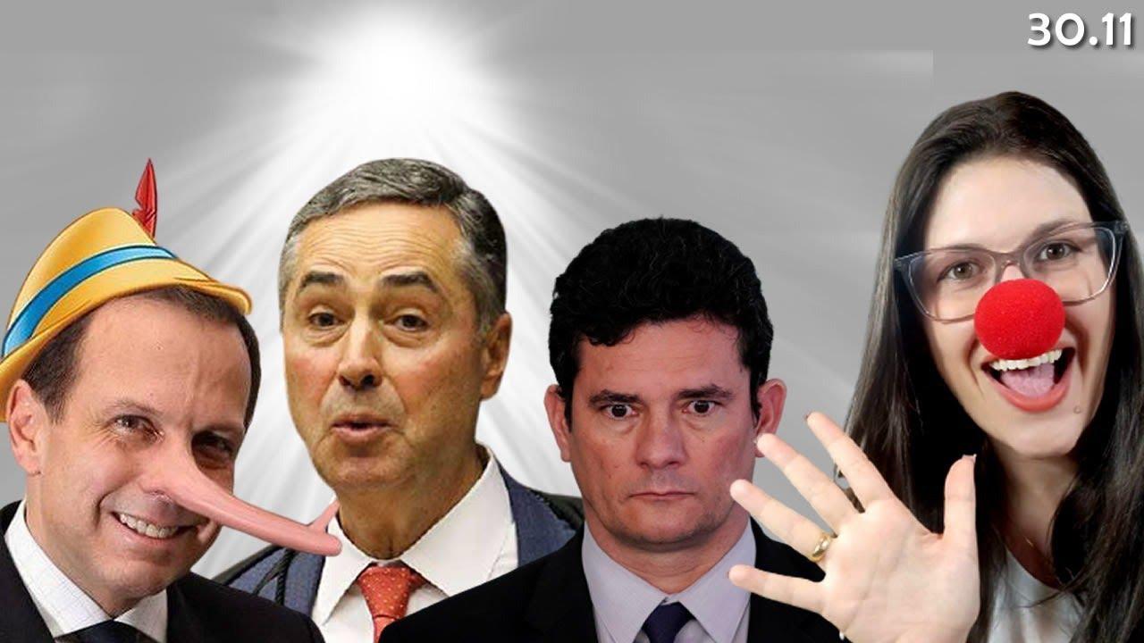 Barroso, explica isso aqui... e mais, contradição de Dória exposta e o novo capítulo da biografia...