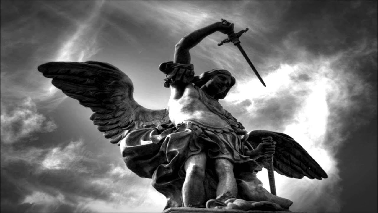 Saint Michael the Archangel isnt a saint but rather he is an angel and the leader of all angels and of the army of God This is what the title