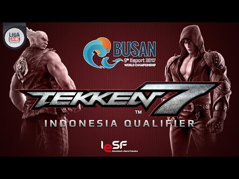 LIGAGAME TEKKEN 7 IESF Indonesia Qualifier - Road to Busan 2017