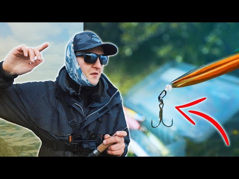My Favourite Setup For Sea Trout Inline Lures - Step By Step Tutorial!