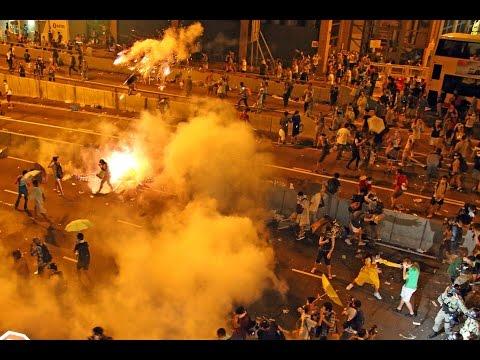 深圳公司祝福香港 循环播放《海阔天空》力挺反逃犯条例