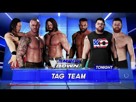 Randy Orton, Shinsuke Nakamura, & AJ...