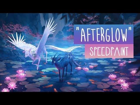 Afterglow | SPEEDPAINT | Photoshop CC
