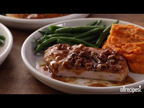 Weeknight Dinner Recipes – How to Make Awesome Honey Pecan Pork Chops