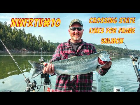 NWFRTV#10 | Coeur D'Alene Chinook Salmon & Lake Washington Coho