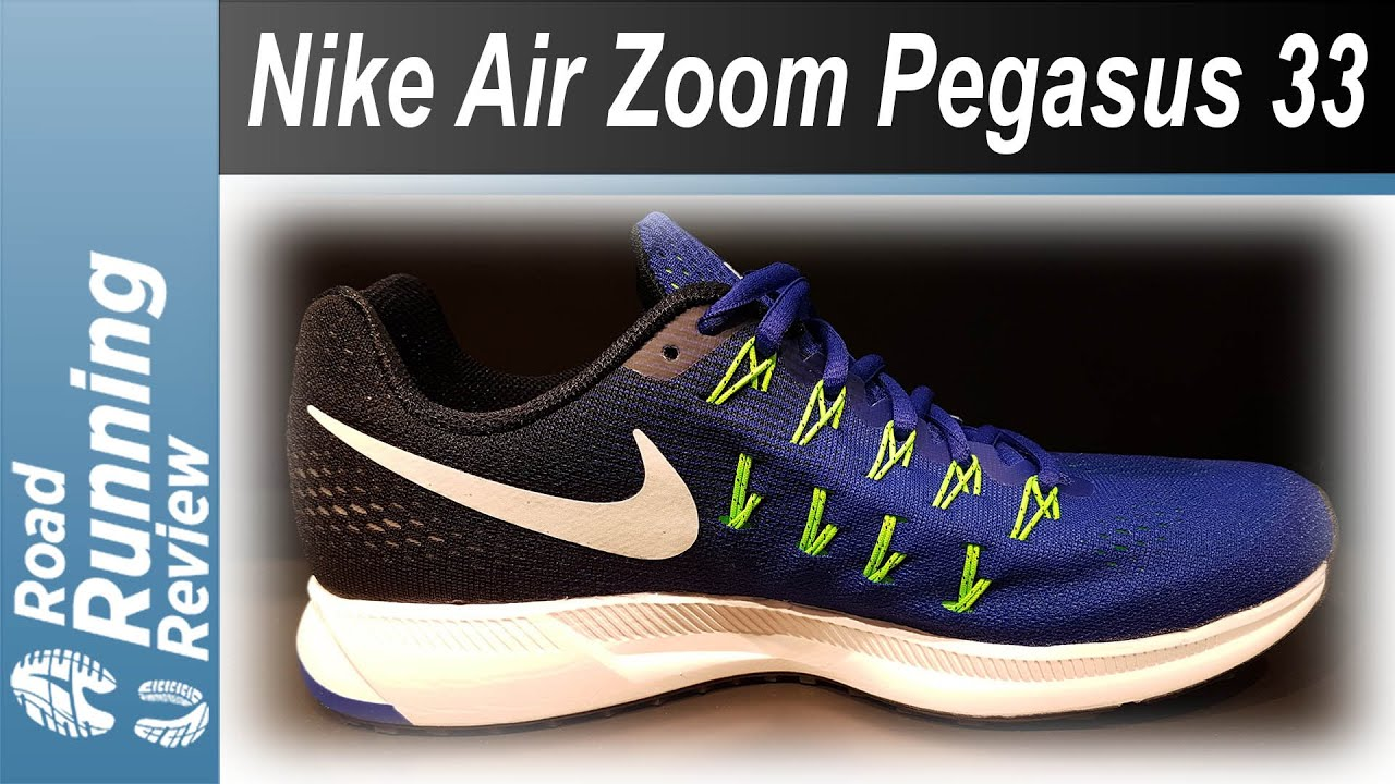 13428e39bc2da Nike Air Zoom Pegasus 33 - YouTube