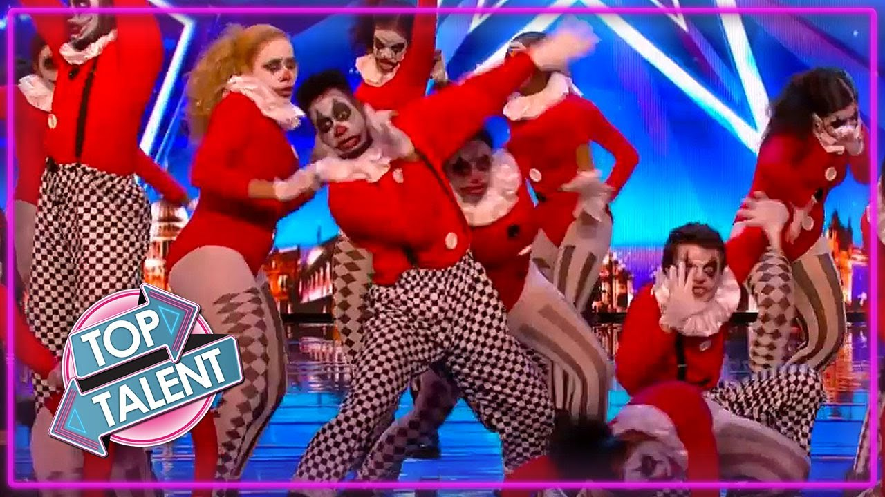 AMAZING FANTASY Dance Group Auditions On Got Talent And The Greatest Dancer | Top Talent