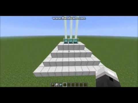 Minecraft - How to Put Multiple Beacons on One Beacon-Tower
