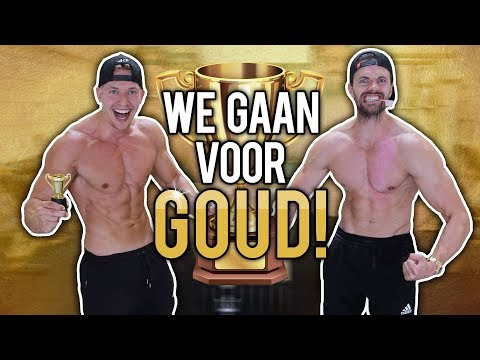 JOEL BEUKERS & ANTHONY KRUIJVER TRAINEN IN DE GOUDEN GYM