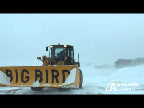 Akron Canton Airport Winter Operations